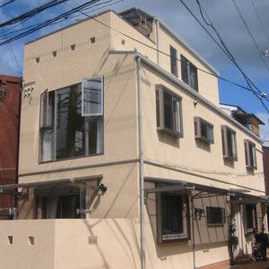 新築:木造住宅 大阪府茨木市N邸 都市型2世帯住宅