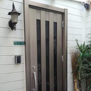 小規模リフォーム 兵庫県伊丹市 M様邸 ガラススリットドアへのリフォーム