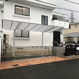 エクステリア 大阪府吹田市 O様邸カーポートの設置工事