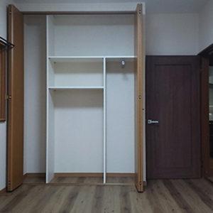 戸建てリフォーム 大阪府箕面市 K様邸 洋室の構造補強と表装替え工事