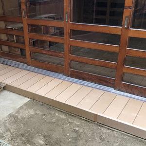 小規模リフォーム 大阪市平野区 S保育園 濡縁改修工事