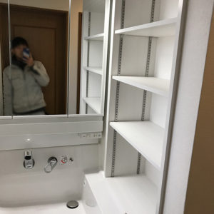 小規模リフォーム 豊中市 T様邸 介護保険対応 トイレ・洗面改修工事