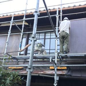 戸建リフォーム 大阪府吹田市 O様邸 外壁(外部の塗り壁、板壁)と屋根 改修工事