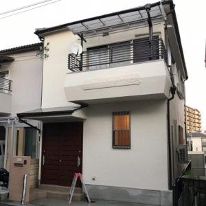戸建リフォーム 大阪府箕面市 K様邸 部屋の増築、外壁の塗装工事
