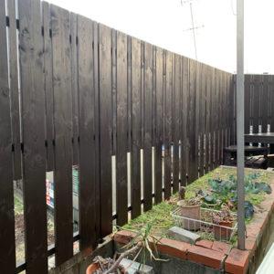 戸建リフォーム 吹田市 K様邸 お庭のウッドデッキ工事