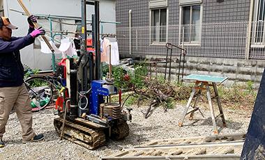 【進行中の現場】新築工事 WSハイブリッド工法 大阪市城東区 T様邸 打ち合わせ・地盤調査
