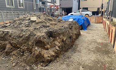 大阪市城東区 T様邸 WSハイブリッド工法 新築工事・基礎工事