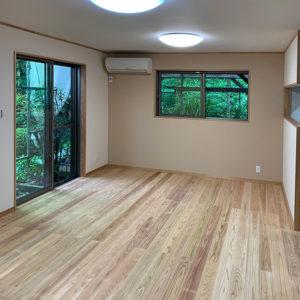 戸建てリフォーム 大阪府豊中市 T様邸 耐震・改修工事