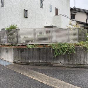 神戸市西区 T様邸 フェンス新設工事