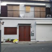 戸建てリフォーム 大阪市平野区 T様邸 店舗の出入口を住宅用に改修