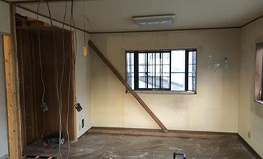 【進行中の現場】戸建てリフォーム 奈良県奈良市 Y様邸 解体、金物による補強