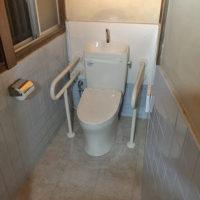 水回りリフォーム 大阪府吹田市 O様邸 バリアフリーなトイレに改修