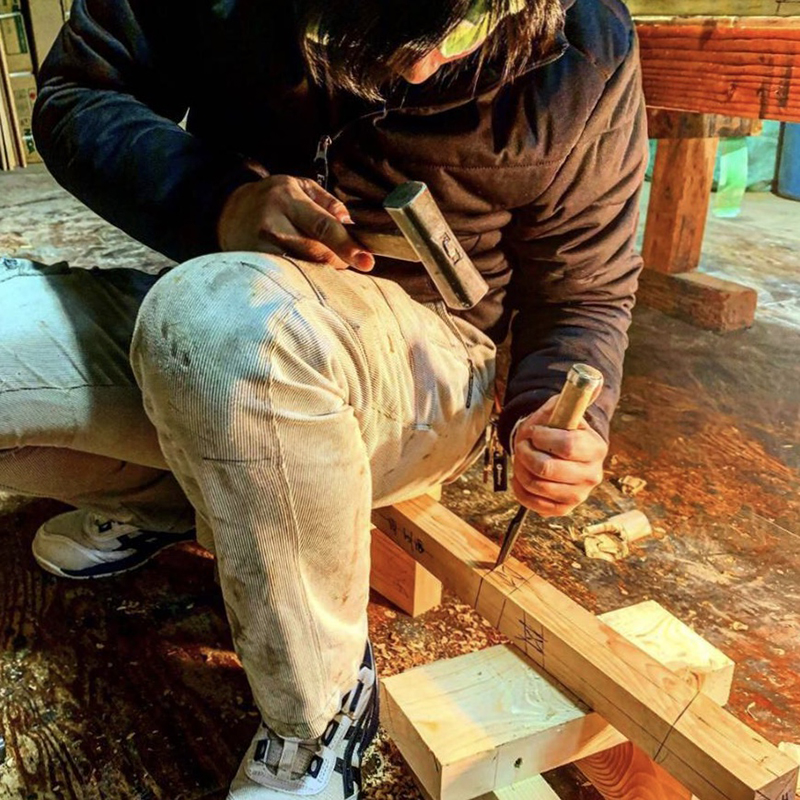 【大工の日常】日向ハウス社員の資格試験 畑井くん 二級建築大工技能士