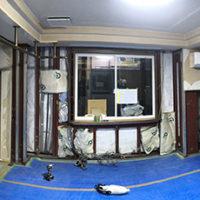 【進行中の現場】大阪府箕面市 N様邸 戸建てリフォーム 断熱改修工事 撤去・施工中