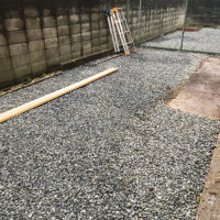マンションリフォーム 大阪市平野区 ハイツN 庭を整備