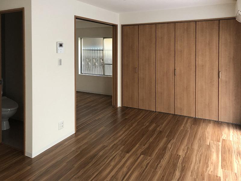 LDK・洋室・トイレ・収納 完成