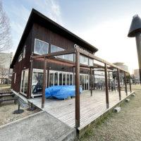 店舗リフォーム 滋賀県大津市 店舗テラス パーゴラ設置工事