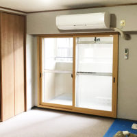 マンションリフォーム 大阪府豊中市 I様邸 結露と湿気対策のインプラス(LIXIL)の取り付け、他