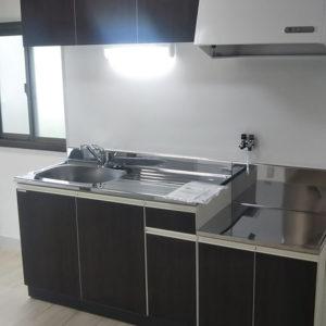 マンションリフォーム 西宮市 レジデンスO 貸マンションのキッチンと押入の改修工事、他